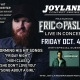 Eric Paslay in Concert at Joyland Friday Oct 4th