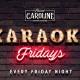 Karaoke Fridays at Sweet Caroline - Miami's Best Karaoke Bar!