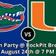 Florida Gators vs Miami Hurricanes Watch Party