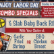 Celebrate Labor Day w/ BBQ from Cody's Original Roadhouse!