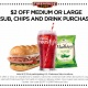 Firehouse Subs Labor Day Special!