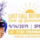 Last Call Before Fall Family Fun Event!