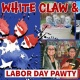 Red, White Claw & Blue Labor Day Pawty