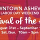 2nd Annual Downtown Asheville Labor Day Weekend Festival of the Arts