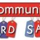 FALL 2019 North Laurel Community Center YARD SALE!!