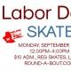 Labor Day Skate
