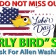 Labor Day 'Early Bird' Sale!