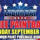 Labor Day Free Paintball Special