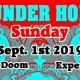 Labor Doom Experience-Thunder Horse, Destroyer of Light, DJ Loy