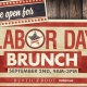 Labor Day Brunch!