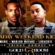 Labor Day Kick off Friday Night at the Gold Room