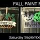 Fall Door Hanger Paint Party