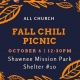 All-Church Fall Chili Picnic