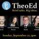 TheoEd Talks September 2019