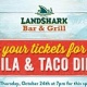 Tequila & Tacos at LandShark Daytona Beach