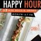 Happy Hour Sushi & Drinks $3