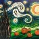 Van Gogh's Starry Night Halloween