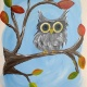 Youth Painting Class - Fall Owl