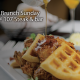 Work hard, Brunch harder with $10 Bottomless Mimosas/Draft Beer!