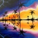 Stormy Reflections- DATE NIGHT- Painting with a Twist