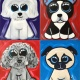 Pick Your Favorite Puppy- KIDS DAY!- Painting with a Twist