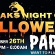 Freaks Night Out 10th Annual Halloween Bash