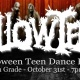 Free HallowTeen Dance Party for Grades 7 to 12