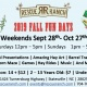 2019 Fall Fun Days