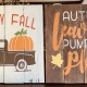 Fall Pallet Painting Event