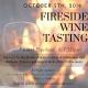 Fireside Wine Tasting