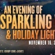 An Evening of Sparkling Wine & Holiday Lights