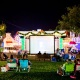 Movie on the lawn: The Polar Express