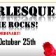 Burlesque, on the Rocks!
