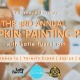 3rd Annual Pumpkin Painting Party