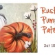 Rustic Pumpkin Patch