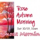 Mimosa Morning-Rose Autumn Morning