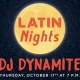 Halloween Kickoff Latin Night with DJ Dynamite
