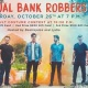 Halloween with Actual Bank Robbers & Adult Costume Contest