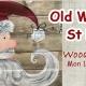 Wood Pallet-Old World St Nick