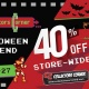 CC Halloween Weekend Sale! (10/25 - 10/27) 40% Off Store-wide!