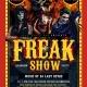 Buko Resto Bar presents Freak Show Halloween Party