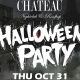 Celebrate Halloween at Chateau Nightclub