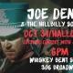 Joe Denim Halloween Show