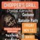 Halloween & Karaoke Party At Chopper's Grill!