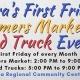 2019 Viera's First Friday Farmers Market & Food Trucks