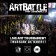 Art Battle Fort Lauderdale - October 17, 2019