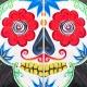 Sugar Skull Paint Night at La Mexicana