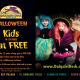 Kids in costume eat FREE at Daiquiri Deck!