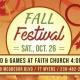 Fall Festival on Sat., Oct. 26