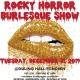 The Rocky Horror Burlesque Show